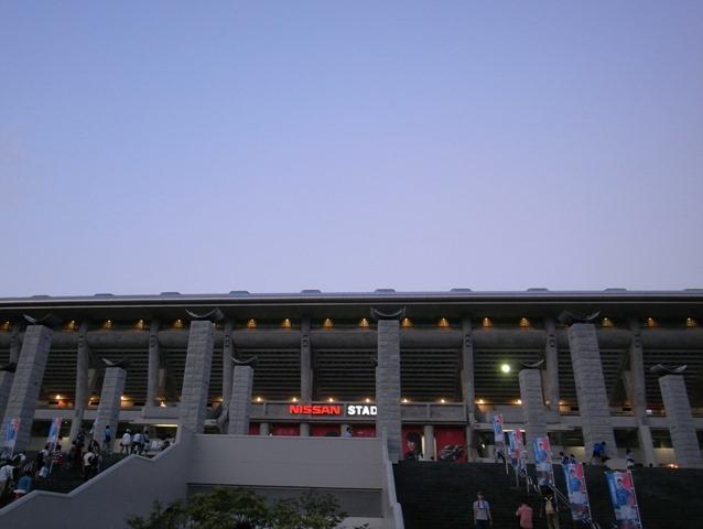 日産スタジアムサッカー観戦感想横浜FM