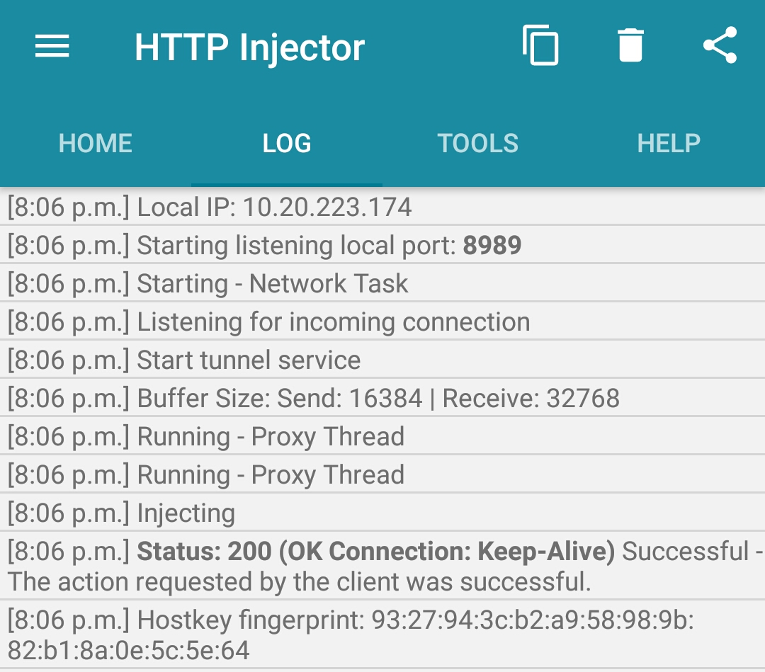 Config File: Http injector, KPN Tunnel, Spark VPN, Eproxy