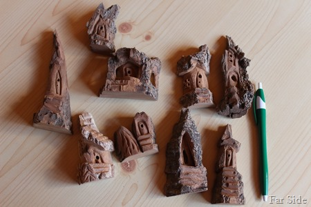 Carvings unpainted
