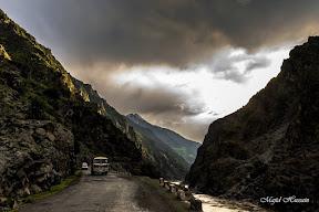 Karakorum Highway near Sazin.