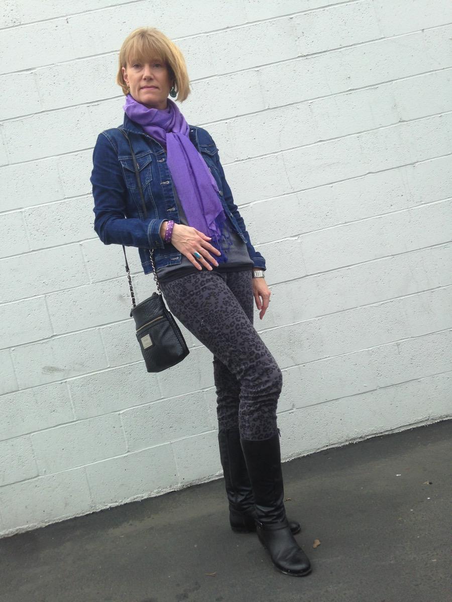 LeopardJeansPurpleScarf