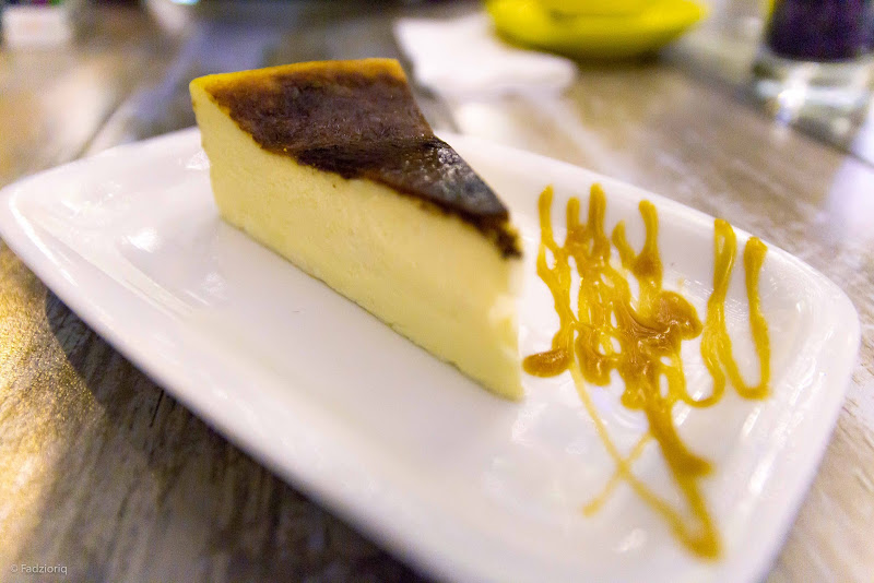 ASOW Eatery Burned Cheesecake