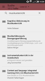 BibApp LG- screenshot thumbnail