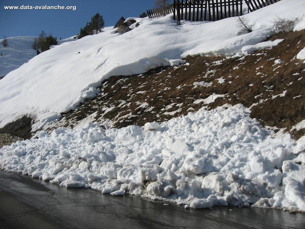 Avalanche Haute Tarentaise, secteur Tignes, RD87A - Photo 1
