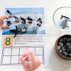 Winter Printables: Ten Frames Counting Activities