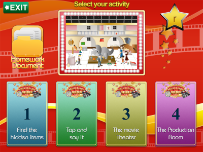 Articulation Scenes Select Your Activity