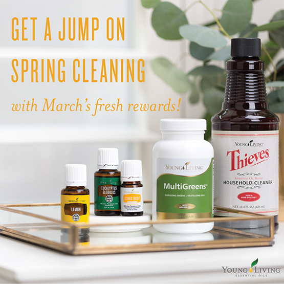 March 2016 Young Living Promotion