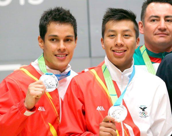 Medallistas bolivianos en los Panamericanos 2015