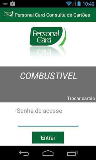 Personal Card Consulta Cartões
