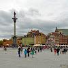 04-05-2013 | Warszawa | Panorama z Placem Zamkowym