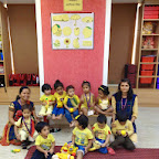 Yellow Day Celebrated in Playgroup at Witty World