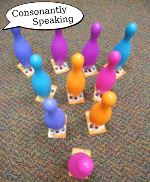 Making Articulation Fun - Card Bowling image