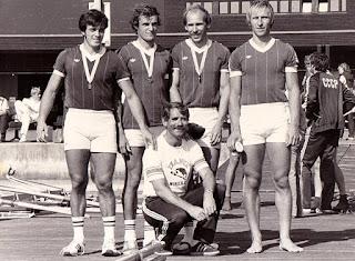1981-La saison de l'équipe de France d'aviron
