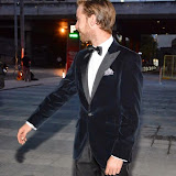 WWW.ENTSIMAGES.COM -    Luke Treadaway  arriving at        BRIGHT YOUNG THINGS GALA 2014 at The National Theatre, London September 18th 2014A Young Patrons of the National Theatre gala event in support of emerging artists. The inaugural Bright Young Things Gala aims to raise vital funds in support of emerging artists at The National Theatre, and champion young philanthropy in the arts on a peer to peer level.                                               Photo Mobis Photos/OIC 0203 174 1069