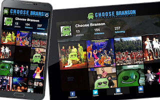 Screenshot of Choose Branson
