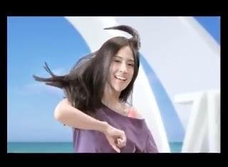 siapakah bintang iklan cantik  shampo zinc edisi zumba?