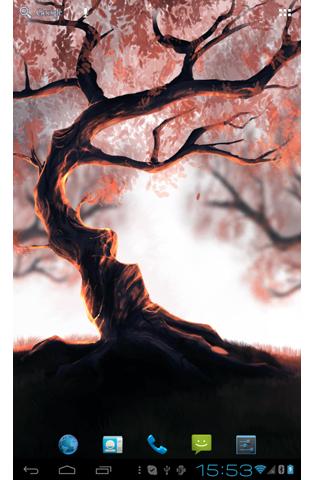 Woody Land :  Tree live wallpaper Parallax 3D free 2.5.5 screenshots 4