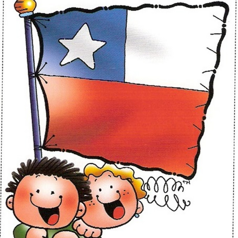 Bandera de Chile, color y colorear