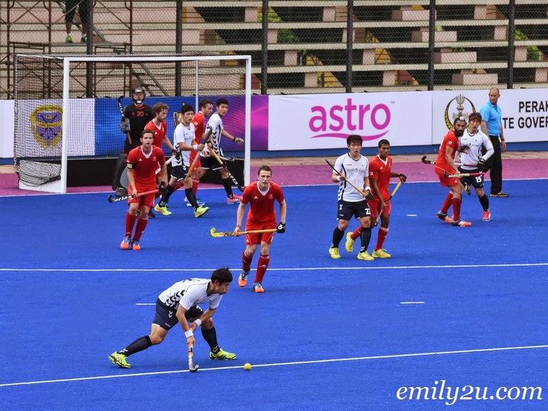 2015 Sultan Azlan Shah Cup – Match 4 – Canada (1) - S. Korea (3)