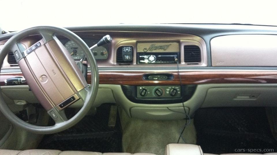 1997 mercury grand marquis sedan specifications pictures. Black Bedroom Furniture Sets. Home Design Ideas