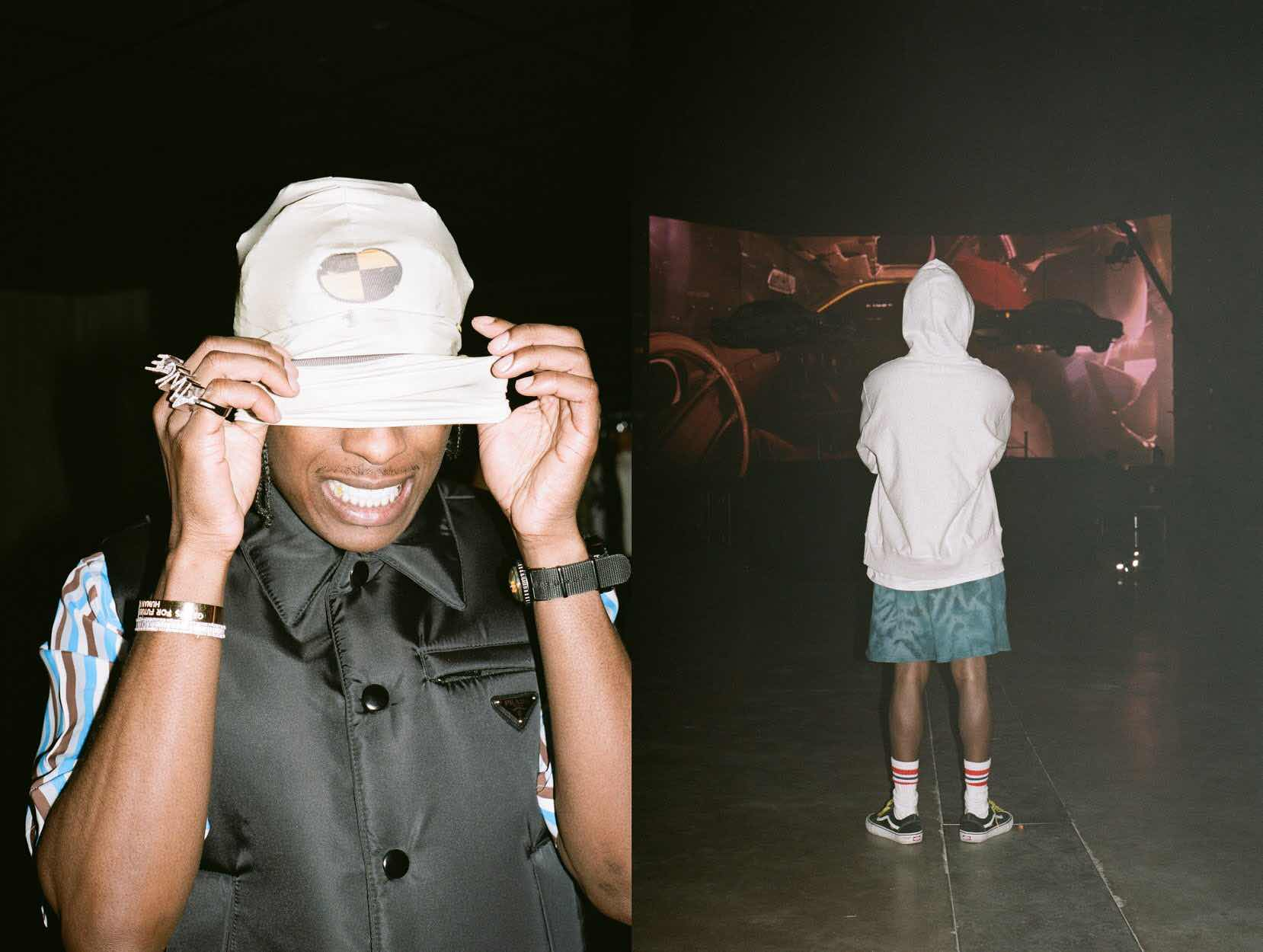 A$ap Rocky for GQ while on Tour