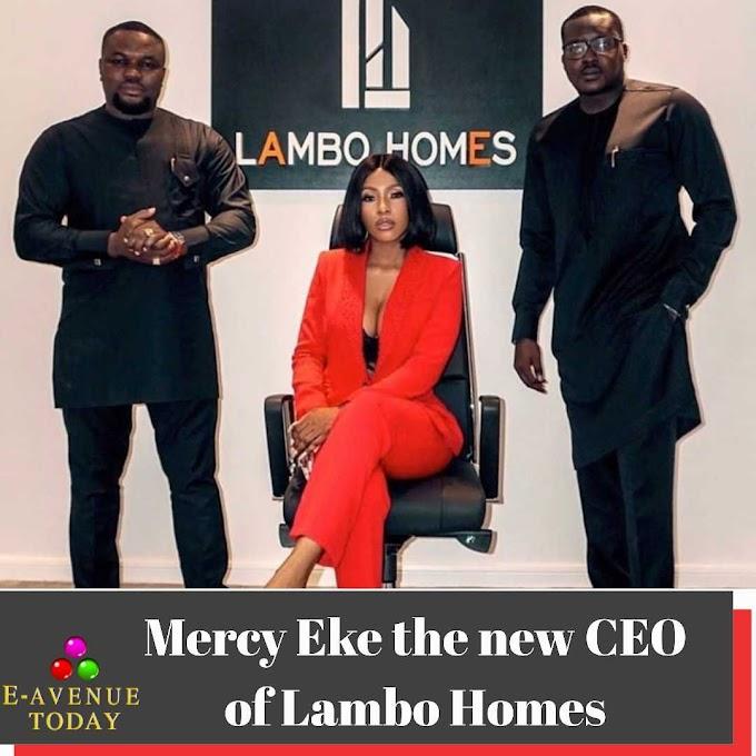 Mercy Eke the new CEO of Lambo Homes