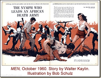 06 - MEN, Oct 1960. Walter Kaylin, art by Bob Schulz
