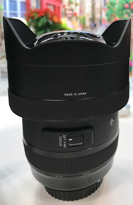 Sigma 12-24mm f/1.4 Zoom