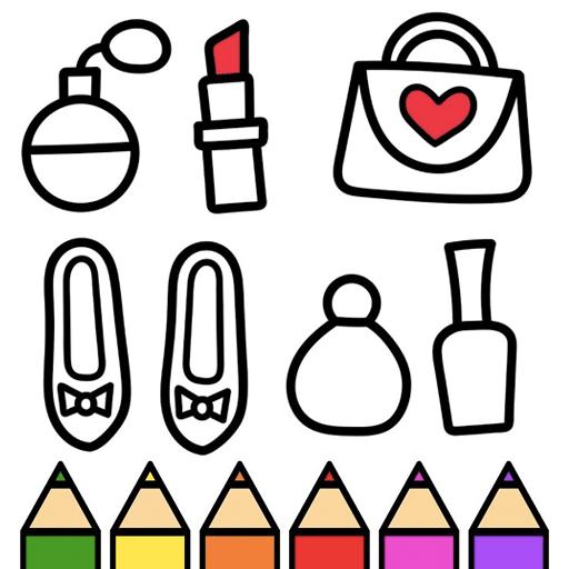 App Insights Princess Makeup Coloring Book Beauty And