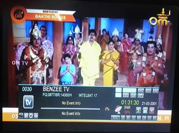 Pselvannet Satellite Service Om Tv Tamil Channel Test