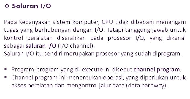 Sistem Input Output Organisasi dan Arsitektur Komputer