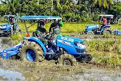 Ditengah Wabah Covid-19, Kodim 0101/BS Kerjasama Pemkab Aceh Besar Garap Ribuan Hektar Sawah Petani