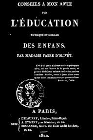 Cover of Madame Fabre d'Olivet's Book L'Education (1820,in French)