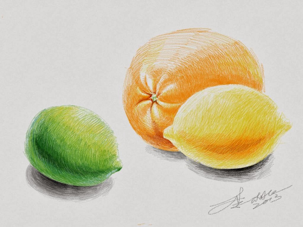 still-life made with Sketches