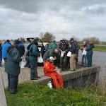 Vissen in het Voorns Kanaal d.d. 16 april 2010.