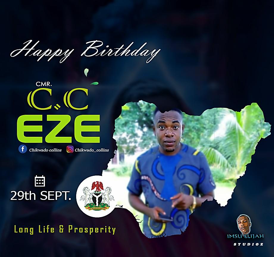Hero Amongst Students - Happy Birthday C.c Eze