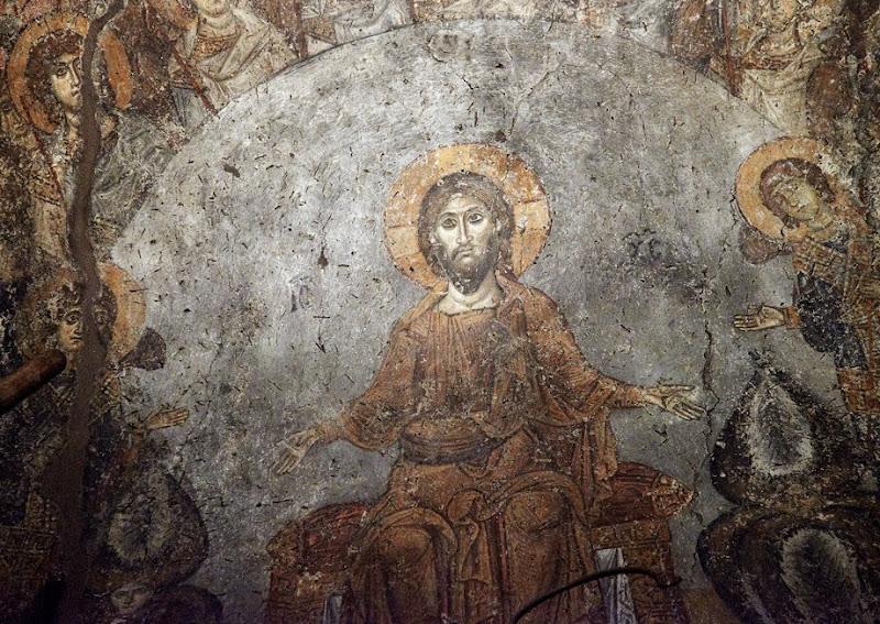 6. Byzantine fresco. XI Century