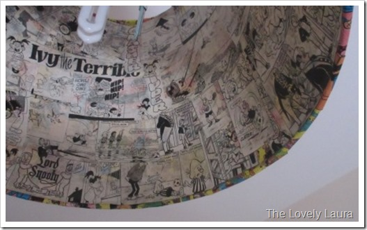 Beano Covered Lightshade