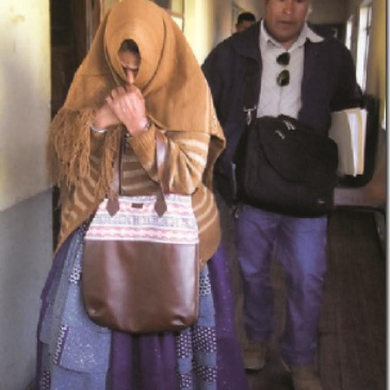 Envían a la Cholita bandida a Obrajes por su seguridad