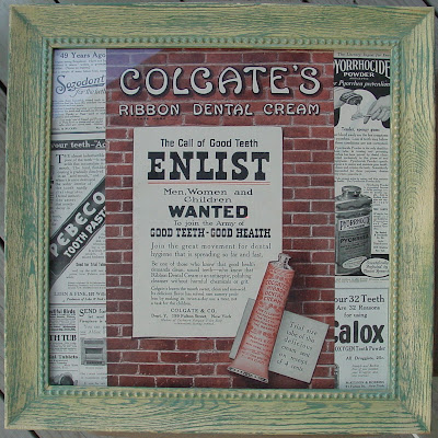 Colgate Ribbon Dental Cream - 1910s