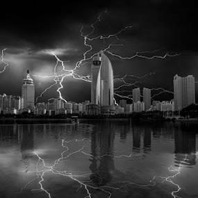 Lightning by Jaguar Ricko - Landscapes Weather