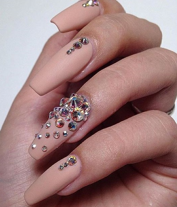 Glamorous bling nail art designs for 2018 fashionre prinsesfo Images