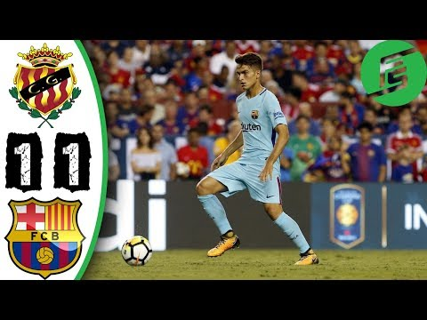[Video] Gimnastic vs Barcelona 1-1 – Highlights & Goals – 04 August 2017