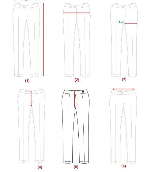 Thông Số Size Chuẩn Và Quy Cách Đo Đồng Phục Nữ 2