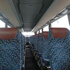 Het interieur van de Setra van Besseling bus 1