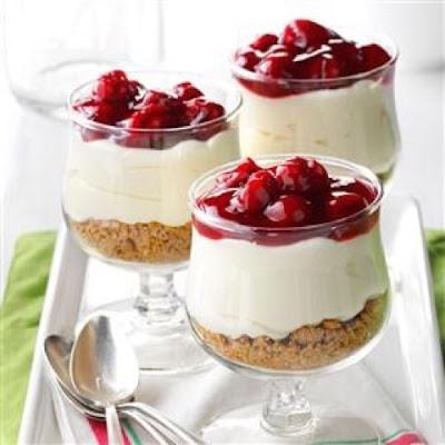 RecipeReview Cherry Cheescake Dessert