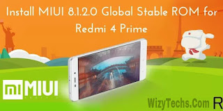 miui 8.1.2.0 stable rom for xiaomi redmi 4 prime
