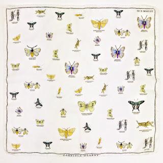 Gabriella Hearst Butterfly Pocket Scarf