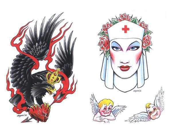 Design Of Silent Tattoo 2, Fantasy Tattoo Designs