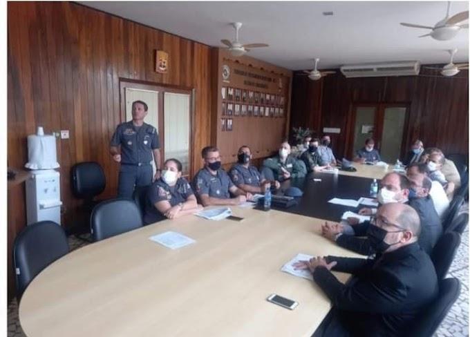 Forças de segurança pública da região discutem estratégias de combate ao crime
